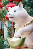 Año chino del cerdo Fotografía de archivo