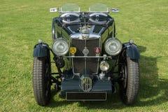 Año clásico 1934 de los deportes del PA de MG del coche Imagen de archivo libre de regalías