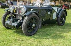 Año clásico 1934 de los deportes del PA de MG del coche Fotografía de archivo