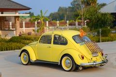 Año completamente restaurado 1969 del modelo de Volkswagen Beetle Fotografía de archivo