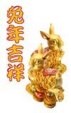 Año de conejo Imágenes de archivo libres de regalías