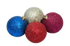 Año de Enw y decoraciones de la Navidad y Imagen de archivo libre de regalías