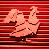 Año de gallo ardiente Fotografía de archivo libre de regalías