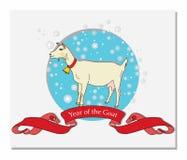 Año de la cabra Imagen de archivo libre de regalías