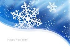 Año de la nieve Foto de archivo libre de regalías