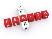Año de la salud Fotos de archivo