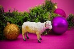 año de las ovejas Fotografía de archivo libre de regalías