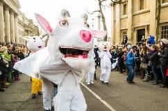 año de las ovejas Foto de archivo libre de regalías