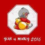 Año de mono Imagen de archivo