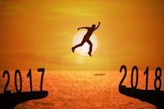 año de 2018 noticias Fotografía de archivo libre de regalías