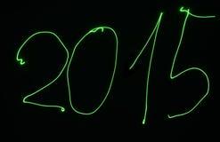 Año de pintura ligero 2015 Imágenes de archivo libres de regalías
