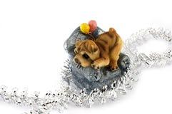 Año de un perro. Imagen de archivo libre de regalías