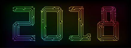 Año 2018 del circuito Imagenes de archivo