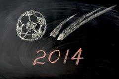 Año del fútbol de 2014 Foto de archivo