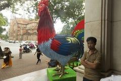 Año del gallo Fotos de archivo