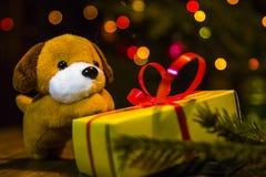 2018 - año del perro amarillo Foto de archivo