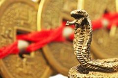 Año del shui de Feng de la serpiente Foto de archivo libre de regalías