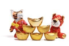 Año del tigre Imagen de archivo libre de regalías