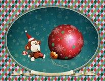 Año feliz del mono Foto de archivo libre de regalías