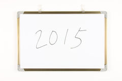 Año número 2015 Fotos de archivo