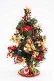 Año Nuevo, árbol de navidad, día de fiesta, juguetes Foto de archivo libre de regalías