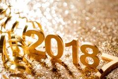 Año Nuevo 2018 Imagenes de archivo