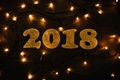 Año Nuevo 2018 Fotos de archivo libres de regalías