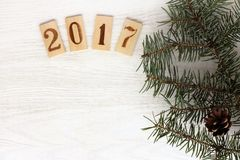 Año Nuevo 2017 Fotografía de archivo