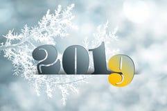 Año Nuevo 2019 Fotografía de archivo libre de regalías