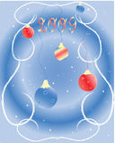 Año Nuevo 2009 Fotos de archivo libres de regalías