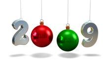 Año Nuevo 2009 Foto de archivo libre de regalías