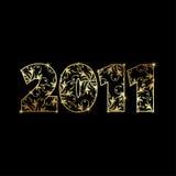Año Nuevo 2011 Ilustración del Vector