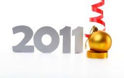 Año Nuevo 2011 Foto de archivo libre de regalías