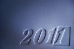 Año Nuevo 2011 Fotografía de archivo libre de regalías