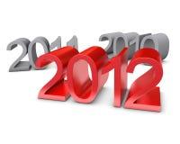 Año Nuevo 2012 libre illustration
