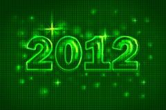 Año Nuevo 2012 stock de ilustración