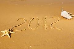 Año Nuevo 2012 Fotografía de archivo libre de regalías