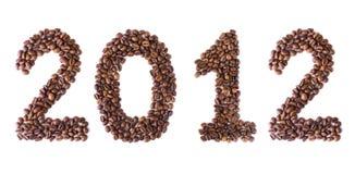 Año Nuevo 2012 Fotos de archivo libres de regalías