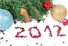 Año Nuevo 2012 Imagen de archivo libre de regalías