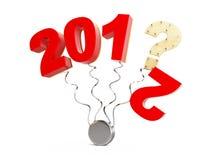 Año Nuevo 2013 Fotografía de archivo