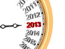 Año Nuevo 2013 Imágenes de archivo libres de regalías