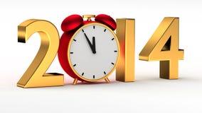 Año Nuevo 2014 Fotografía de archivo