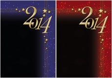 Año Nuevo 2014 Imagenes de archivo