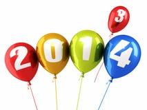 Año Nuevo 2014 Imagen de archivo