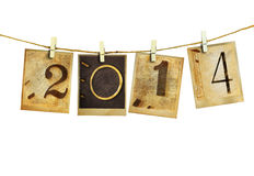 Año Nuevo 2014 Fotos de archivo