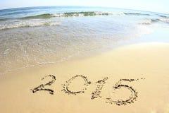 Año Nuevo 2015 Foto de archivo