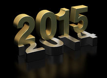 Año Nuevo 2015 Fotos de archivo