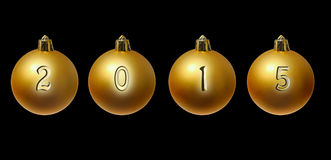 Año Nuevo 2015 Foto de archivo libre de regalías