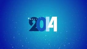 Año Nuevo 2015 almacen de metraje de vídeo