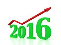 Año Nuevo 2016 Foto de archivo